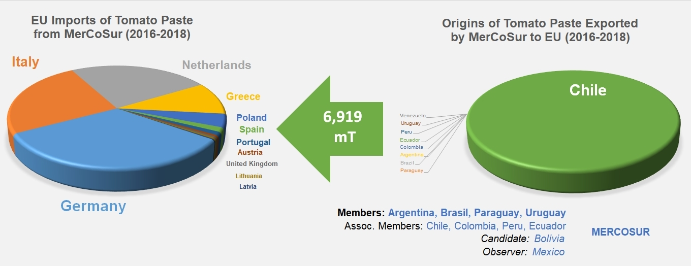 EU-Mercosur free trade agreement: the real trade-flows